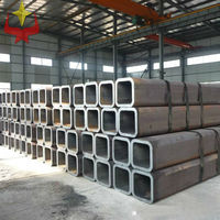 carbon square steel pipe/ rectangle steel tube/welded seamless pipe