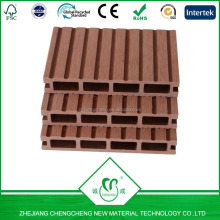 Wood Plastic Composite hollow decking waterproof,China wpc manufactory