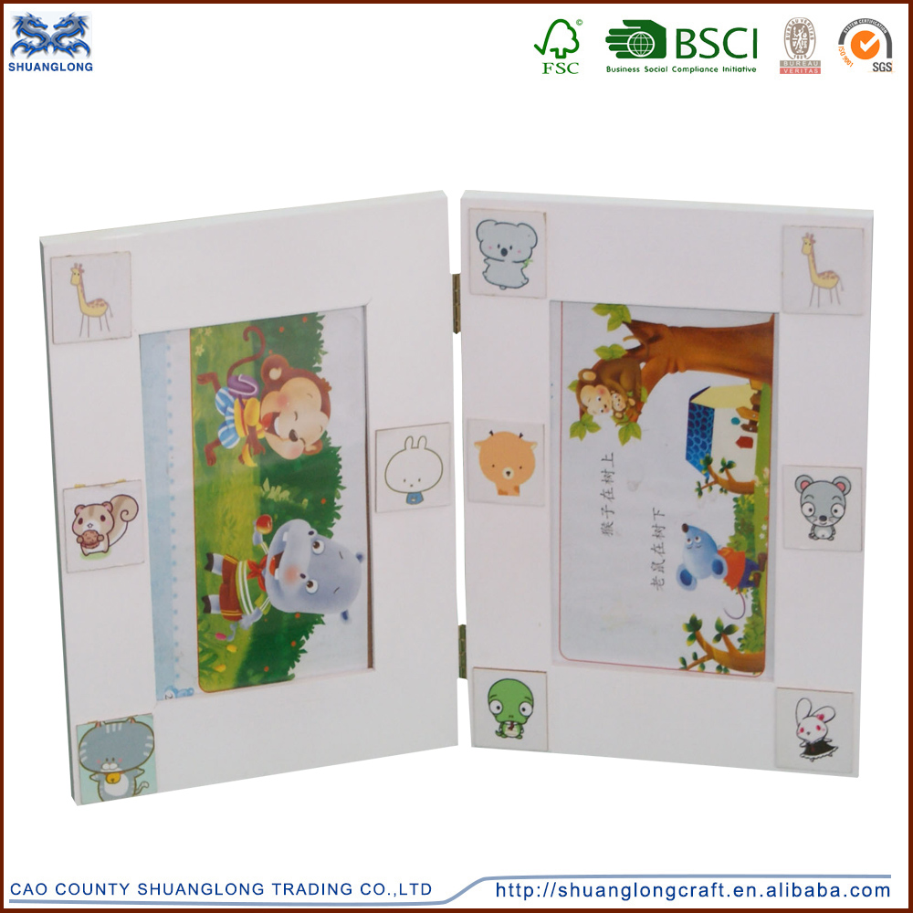 Factory supply new unfinished wooden photo frames design , wooden <strong>art</strong> and crafts photo frame for kids