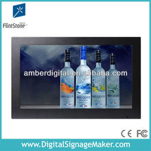 "19"" digital touch screen tools definition for gas station /touch screen dvertising display"
