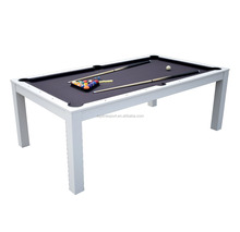 6ft/7ft/8ft 2in1 Deluxe Dining Pool Table/Dining Billiard Table T58402N
