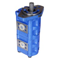 CBGj hydraulic Double gear pump Max Displacement:50ml/r die casting