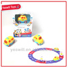 Nice kids toy car track plastic