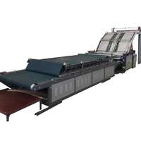 FMZ Series Automatic wallpaper flute laminating machine/paper mounting machine