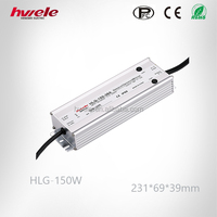 HLG-150W dimmable waterproof LED driver with SGS,CE,ROHS,TUV,KC,CCC certification