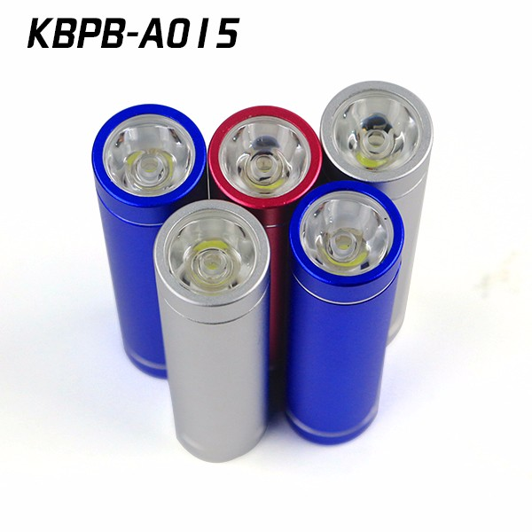 Colorful cylinder 2600mah manual for power bank with custom logo
