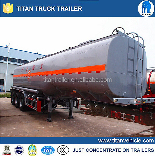 China Top Supplier 3 Axle Tank Mobile Trailer Petrol Station