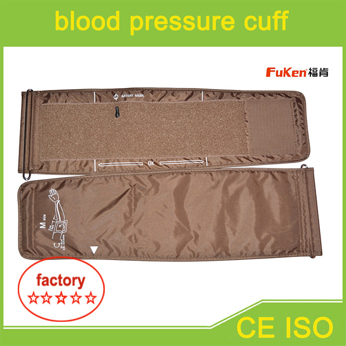 Medical devices standard blood pressure measuring cuff,one PVC tube bp cuff