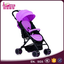 Factory wholesale easy to travel baby stroller type one hand fold portable small size stroller for kids