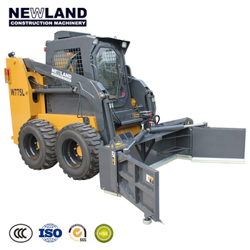 NEWLAND skid steer loader for sale W775 with attachments