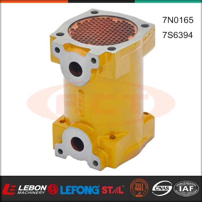 High quality diesel engine parts 7S6394 7N0165 CAT 3306 LB-H2002 transmision external oil cooler aasy
