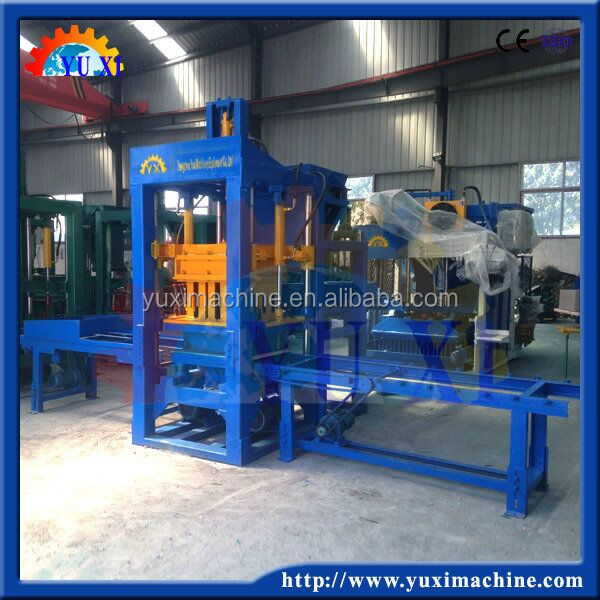 Color tile block machine /China manufacturer concrete brick making machine in 2015 new products