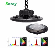 High Quality Cob Hydroponic Plant LED Induction Grow Light UFO Full Spectrum 150W For Greenhouses