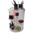 Functional stand acrylic makeup cosmetic display