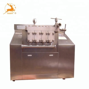 Small Milk Homogenizer Machine Price For Sale / High Pressure Homogenizer