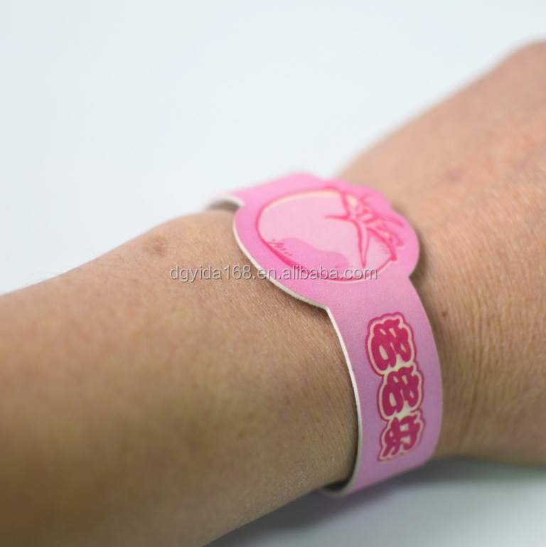 100% natural repelling mosquito band/bracelet/wristband