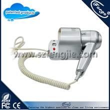 1200W Plastic professional hair dryer, wall mounted hair dryer ,holder hair dryer for hotel
