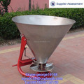 Tractor mounted stainless cone basket fertilizer spreader eq