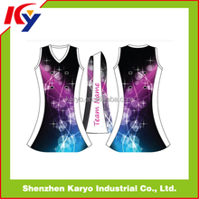 Custom Made Netball Uniform Bodysuits Tops Skirts Sublimation