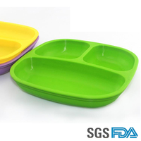 HOT SALE Silicone Baby Pallet, Food Dish Silicone Dining Plate