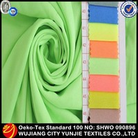 2014 hot sale chiffon fabric for clothing material