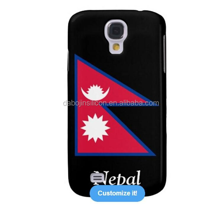 Hot selling 3D Sublimation Nepal flag silicone case for <strong>mobile</strong> phone