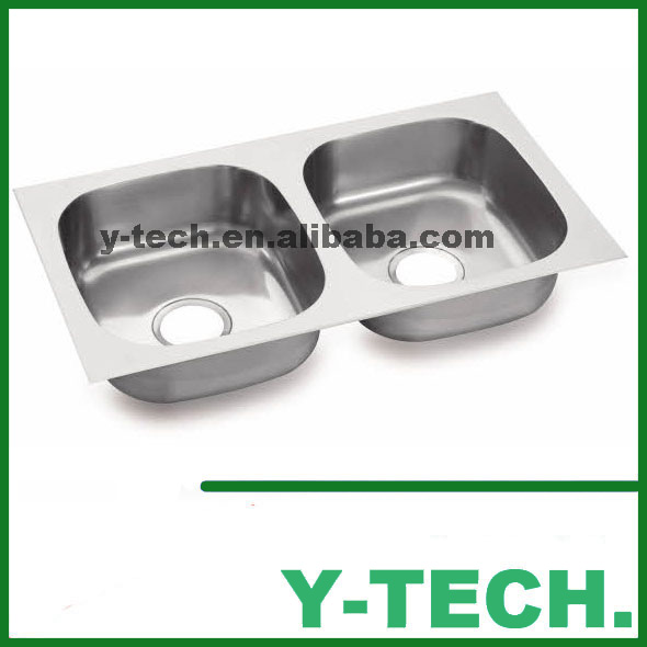 Modern family contemporary low steel prices philippines stainless steel kitchen sink YK 7743