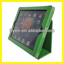 Green For iPad 3rd iPad 2 Magnetic Slim Folio PU Leather Case Smart Cover Stand Wholesale Good Price