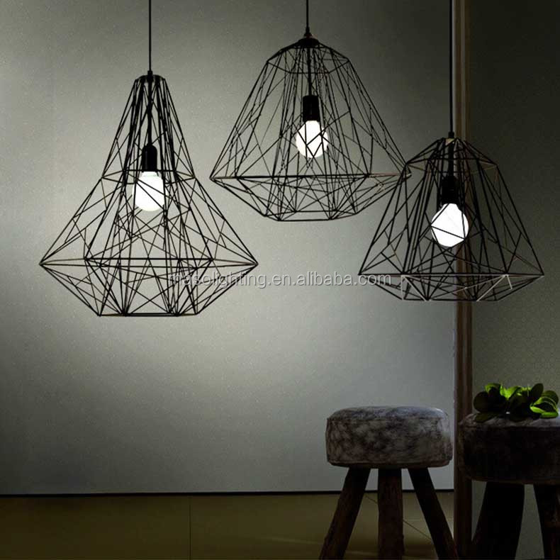 MS-P6018 Wrought Iron retro Pendant light Cafe Bar Dining room Decorative chandelier pendant lighting E27christmas led lights