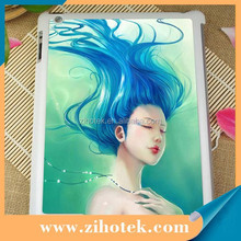 2D sublimation tablet cover case for iPad 2/3/4