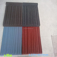 Excellent Fire Resistance Colorful Stone Coated Roof Tile construction material