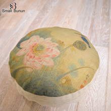 Newest Pp Cotton Decorative Round Pillow Cushion