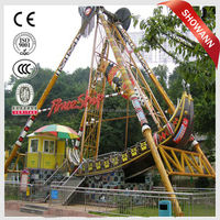 Outdoor 24 persons amusement swing ride big pirate ship