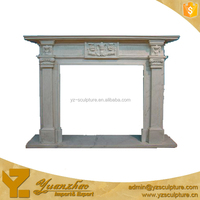 Indoor Marble Fireplace Surround