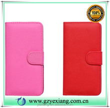 China supplier wallet case for Samsung galaxy s4 mini i9190 flip cover leather stand case with card holder