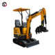 China manufacturer agriculture 08 mini excavator