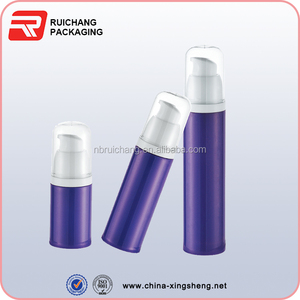 hot sale pp bottle airless pump bottle cosmetic packing
