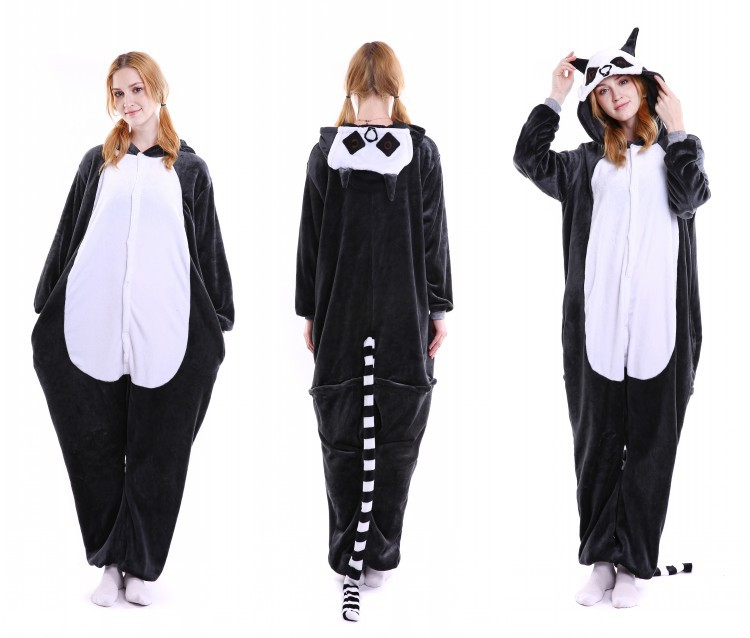 wholesale animal costume onesie pajamas flannel kigurumi sleepwear unisex