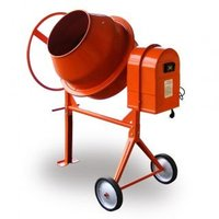 concrete mixer 80/120/140/160/180/200/220/240/260/280/300 electric, mobile, professional, portable, standard