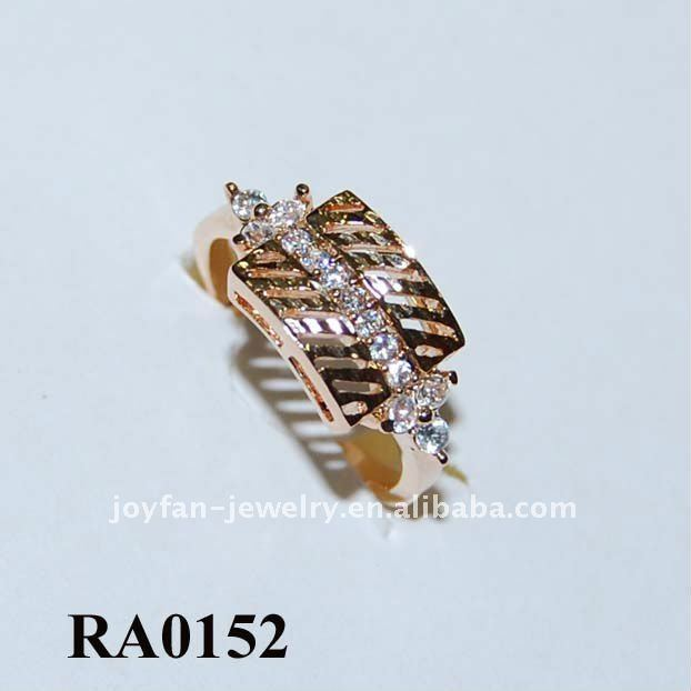 Jewelry display latest wedding ring designs cz ring