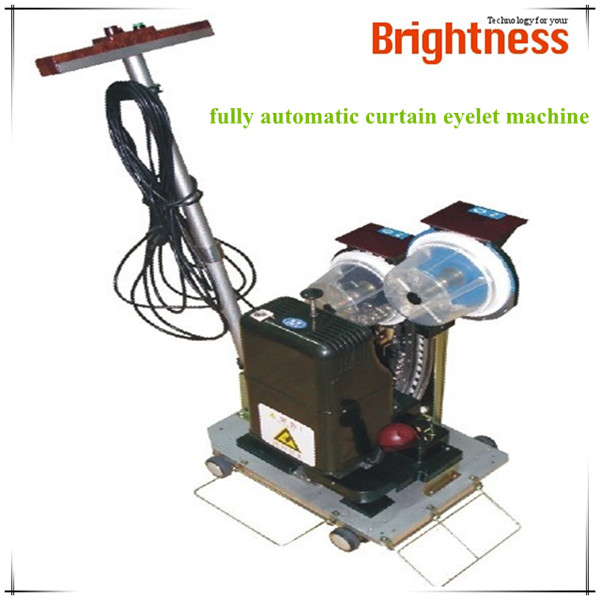 Fully automatic electric plastic eyelet hole punching machine