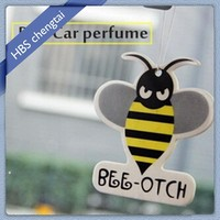 Beer image cotton paper long lasting smell sexy car air fresheners