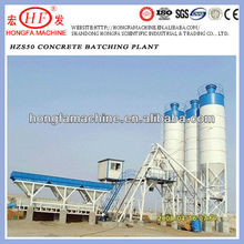 HZS 50 concrete batch plant layout italy,easy batch mixing plant