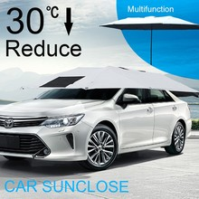 SUNCLOSE retractable garage suv awning sun visor car
