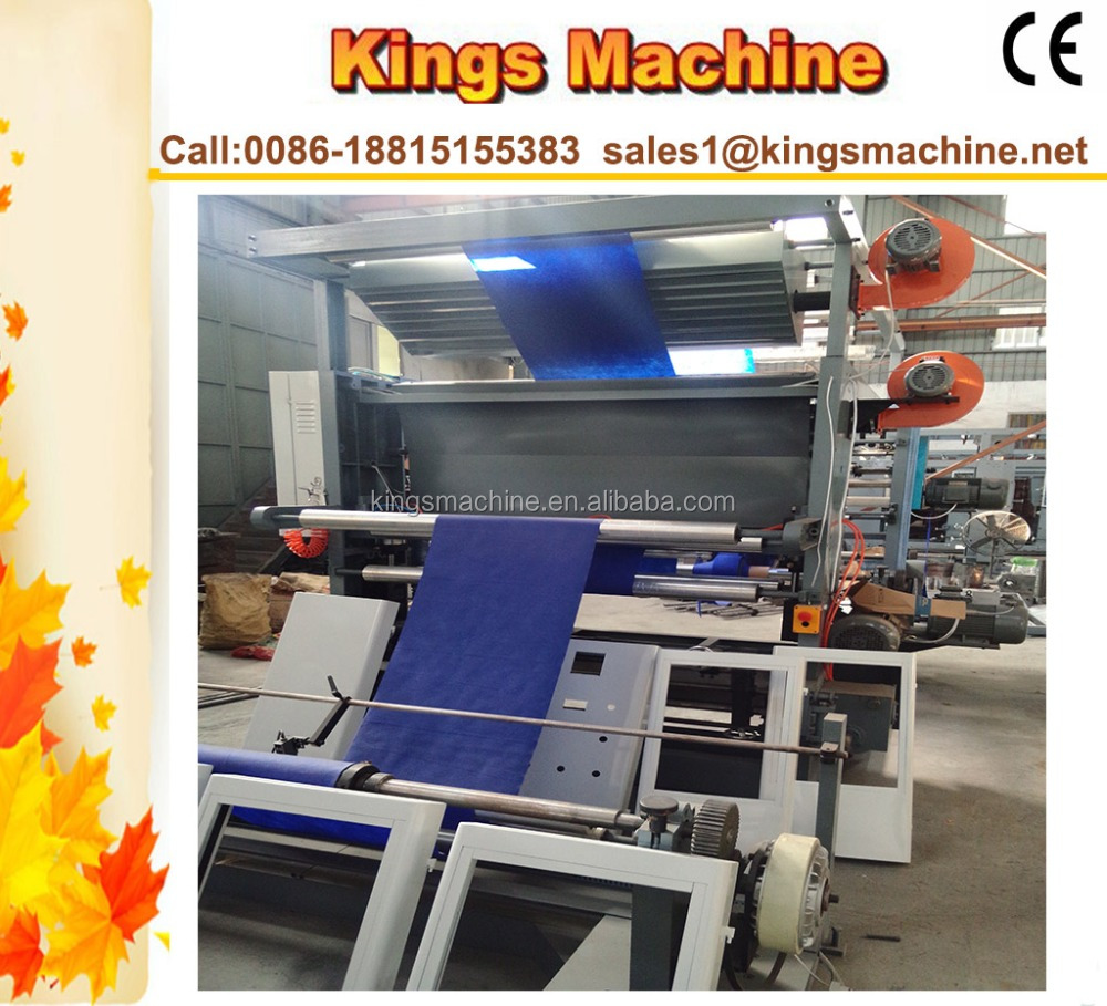 China Manufacturer Multicolour Copper Plate Printing Press /Rotogravure Printing Machine(Kings brand)