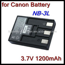 NB-3L Battery Replacement for Canon PowerShot SD500 SD550