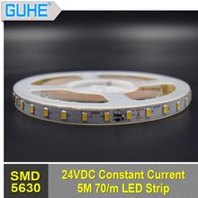 cheap LED strip light smd5630 70leds/m 5m/roll led flexible strip 24v
