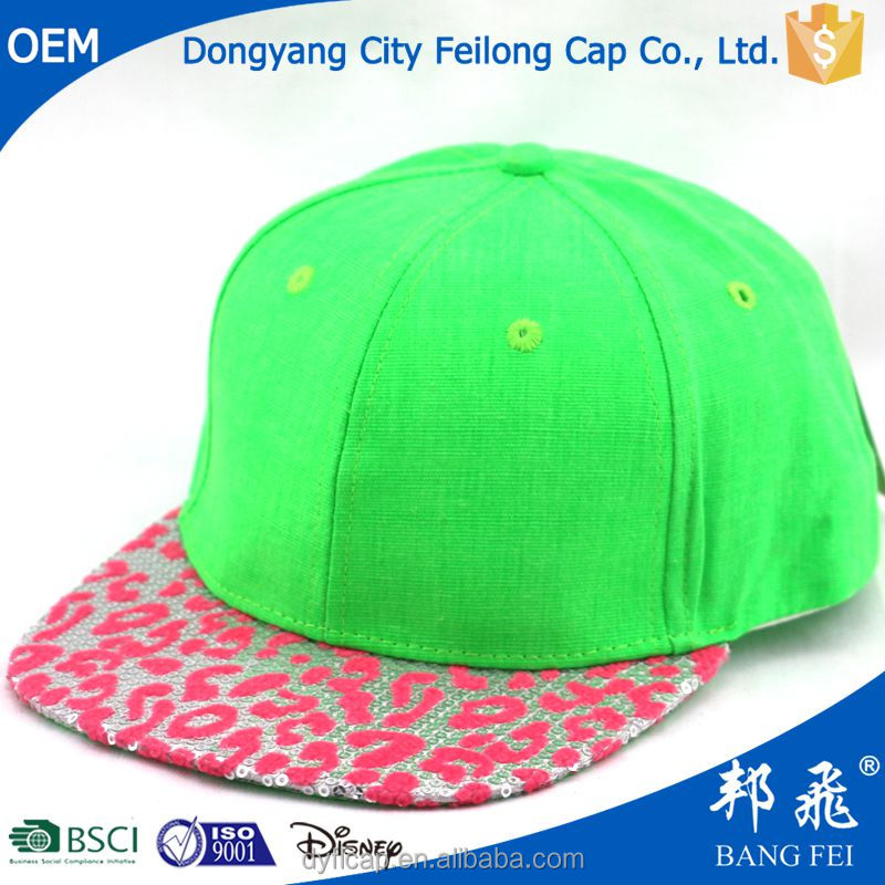 Super model lovely blank snapback children cap/ kids hat
