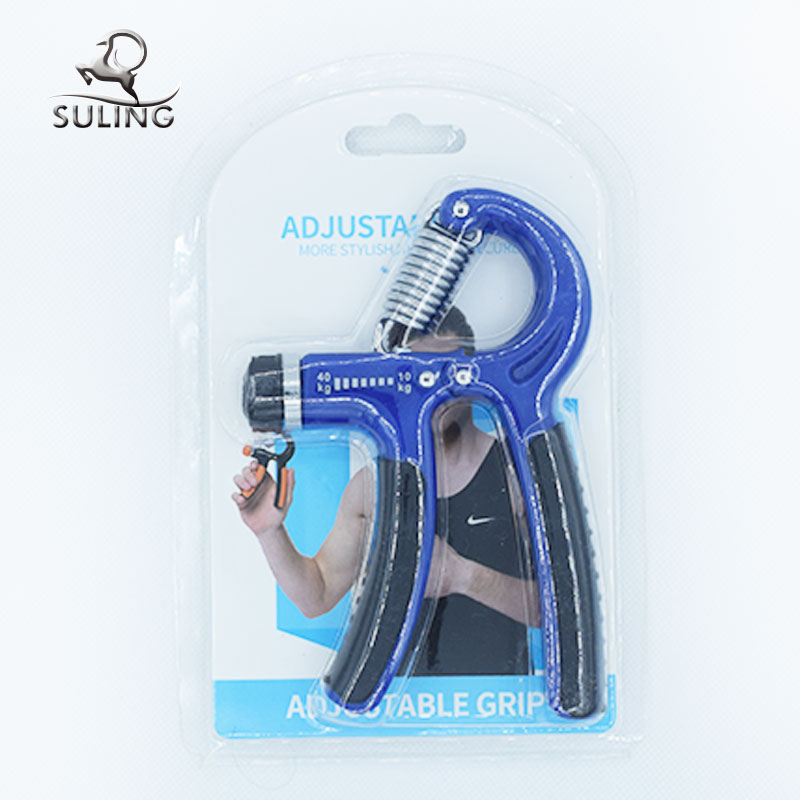 Fashionable adjustable hand grip strengthener strength / exerciser finger grippers for trade show
