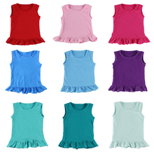 Wholesale 2016 kaiyo hot sale cotton tops for kids,baby t-shirt,girls wearing only shirts